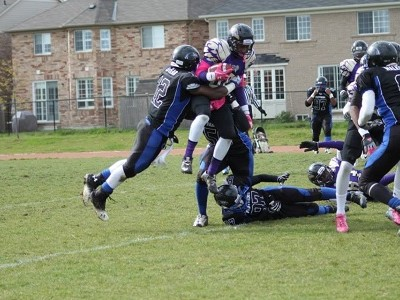 ONT (Peel):  CFC#44 Panthers remain undefeated & on top of the North