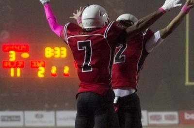 Gryphons soar over Ravens to remain undefeated
