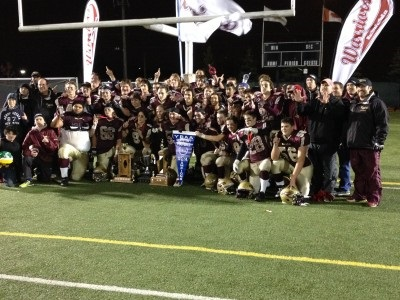 ONT (OFSAA):  Scott dominates to power CFC # 4 Warriors to second straight Bowl win