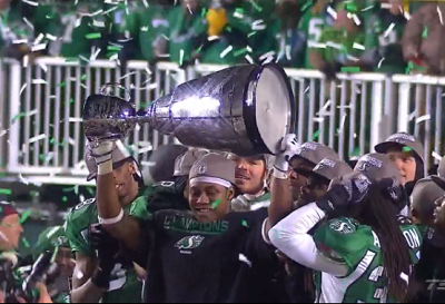 Sheets powers Roughriders to 101st Grey Cup victory