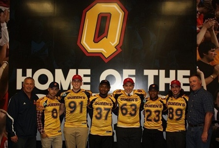 Six recruits join Queen's, Gaels announce preseason tilt with Concordia