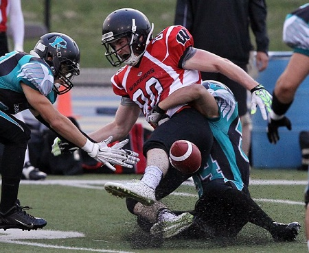 Essex versus Mississauga OVFL 2014 Playoffs