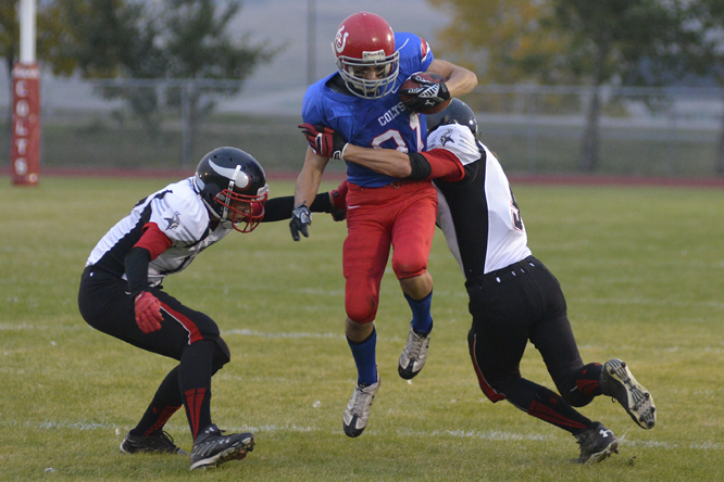 Marcus Kouri, Receiver for the Swift Current Colts