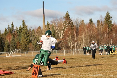 North Sask football 2014