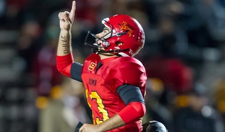 RECAP:  Gryphons down Mustangs on last-second field goal [stats]