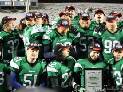 RECAP: CFC 100 Kentner propels CFC#3 Green Griffins to third straight OFSAA Bowl victory