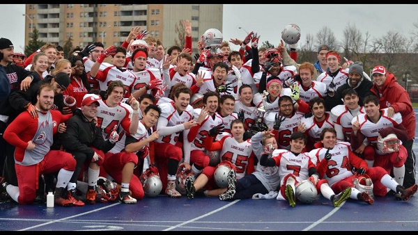 Lorne Park Spartans 2014 ROPSSAA Champs