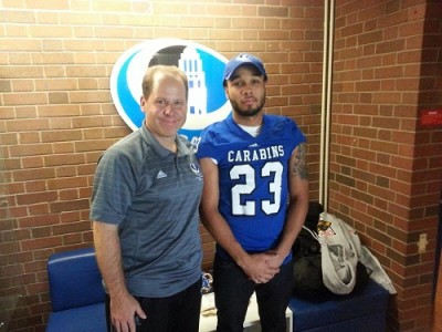 "CEGEP recruit gets to live ""Carabins Experience"" (VIDEO)"