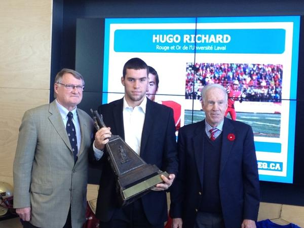 Hugo Richard 2014 RSEQ MVP