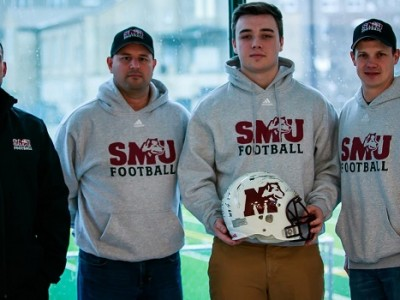 Local recruit carries on family tradition at SMU (VIDEO)