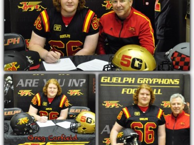 Niagara Falls recruit impressed with Gryphons' potential