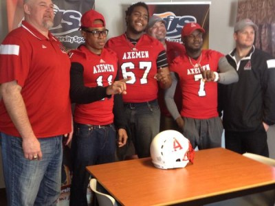 Weekly CIS Recruiting WRAP (17): Axemen unveil 2015 class & three #CFC100 recruits find new homes