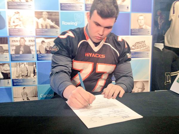 Harper Sherman 2015 NCAA Signing Day