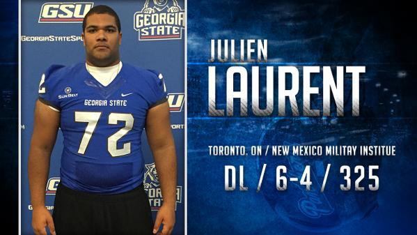 Julien Laurent signing day