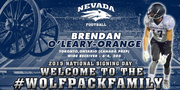 Brendan O'Leary Orange Signing Day