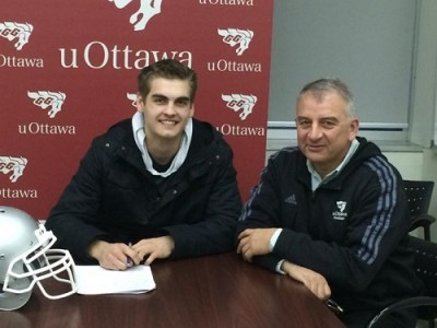 Gee-Gees gave Kingston recruit unique chance