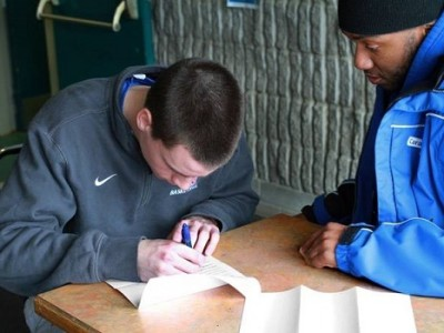Local recruit felt at home with Carabins