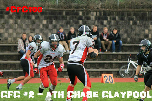 Chase Claypool CFC 100 Class 2016