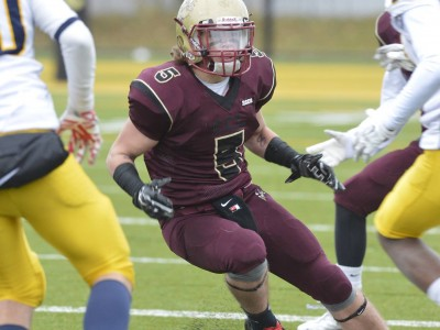 LB Germain motivated to make CEGEP impact (VIDEO)
