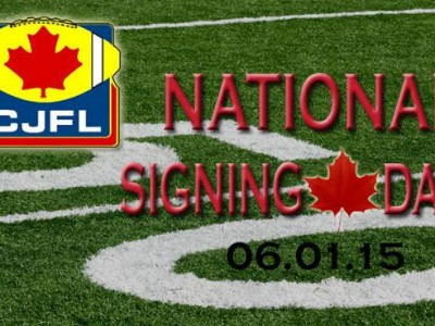 2015 CJFL Signing Day: 12 teams add new players (including 2 #CFC100)