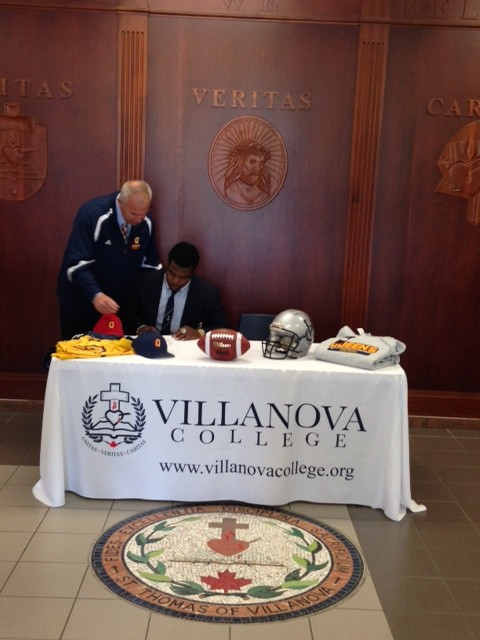Marquis signing
