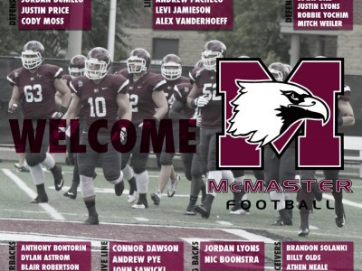 Marauders restock with 33 recruits in 2015 (including #CFC100)