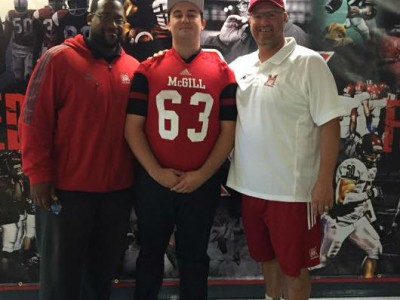 """#CFCOPC recruit """"intrigued"""" by McGill's vision for future (VIDEO)"""
