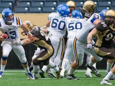 Bisons training camp starts today [ROSTER]