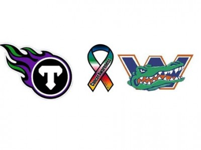 #CFCHSFB PREVIEW (ONT – DURHAM) : Titans, Gators clash in fifth annual Football For the Cure