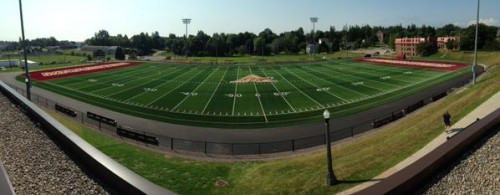 Mount Allison's new turf, Alumni Field