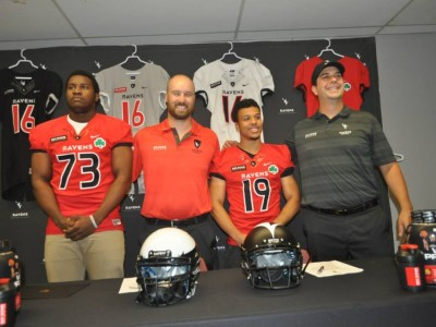 Carleton signs pair of local recruits