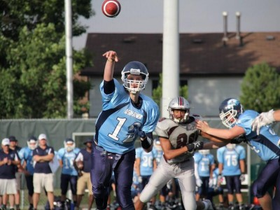 OVFL & OFC VARSITY RECAP (5): Hawkeyes stun Myers Riders; Spears remain perfect; Tiger Cats, Wolverines & Stampeders still undefeated