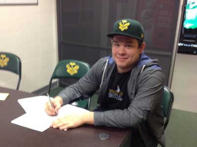 Local recruit thrilled to begin CIS career at home with Golden Bears (VIDEO)