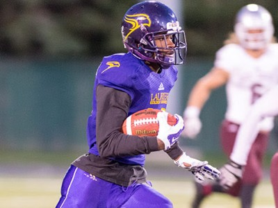 Receiver Kurleigh Gittens Jr. has been a key part of Laurier's offence this season (Photo Credit: Trevor Mahoney)