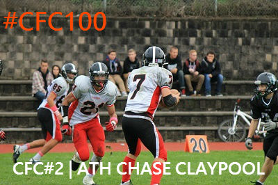 Chase Claypool CFC100 2nd edition