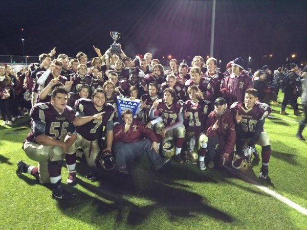 Huron Heights Warriors 2015 champs