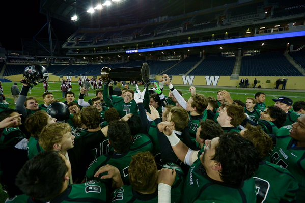 Vincent Massey WHSFL 2015 ANAVETS Champs