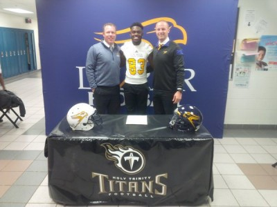 """Ontario recruit felt Laurier was """"like home away from home"""" (VIDEO)"""