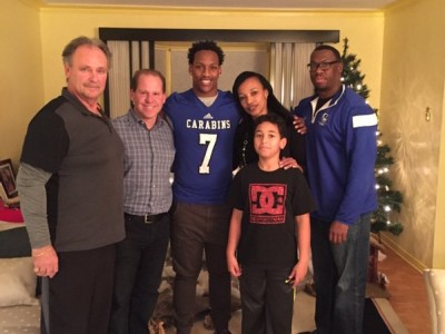 #CFC100 recruit picks Carabins (VIDEO)