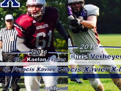 Pair of Ontario linemen become X-Men's first 2016 commitments