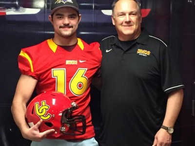 Local recruit opts to stay home, picks Dinos (VIDEO)