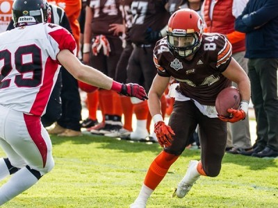 Rams ink two CJFL All-Canadians as Delinte, Huber sign LOIs