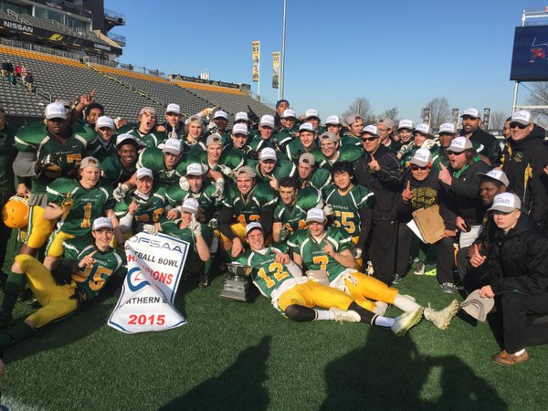 Westdale Warriors 2015 OFSAA Champions