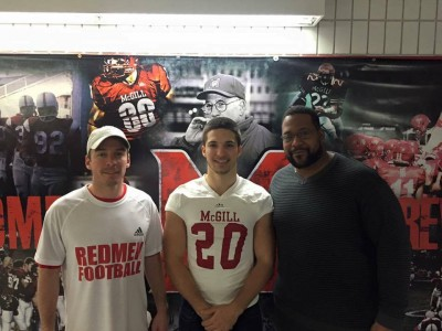 CEGEP recruit's goal to win multiple championships with McGill (VIDEO)