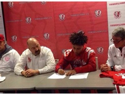 Local recruit signs with York (VIDEO)