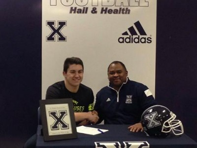 StFX secures first Maritime recruit