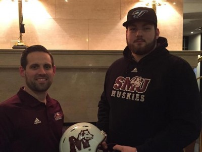 SMU bolsters offensive line with CEGEP recruit (VIDEO)