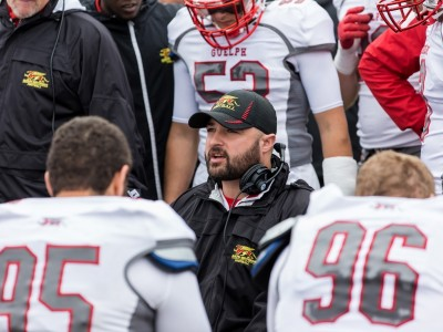 Guelph names interim head coach after MacNeill leaves
