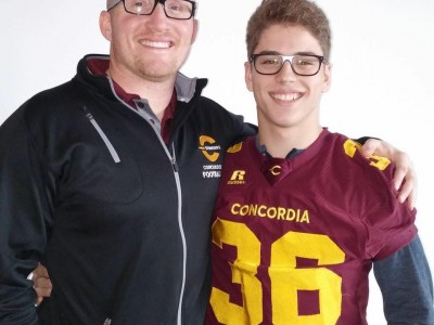 """CEGEP recruit wants to """"be part of the next Vanier Cup win in Concordia"""" (VIDEO)"""