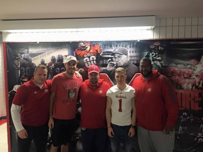 Reunions on tap for CEGEP recruit at McGill (VIDEO)